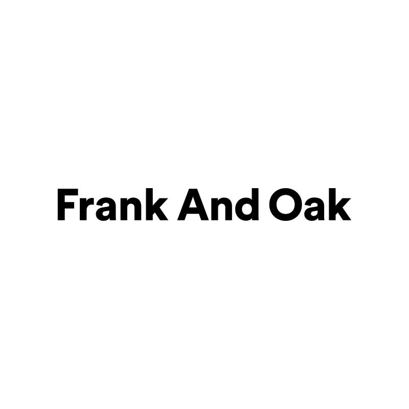 Frank And Oak Coupons